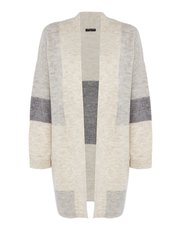 VIZ-A-VIZ colour block cardigan