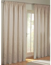Julian Charles Paisley pencil pleat curtain