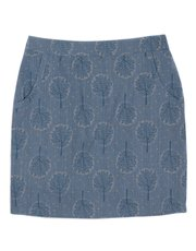 Brakeburn tree print tube skirt