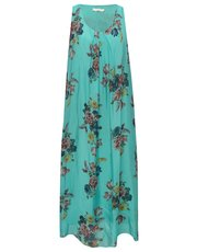 Goose Island floral print silk maxi dress