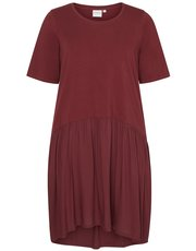 Junarose pleat hem dress