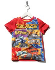 Blaze and The Monster Machines print t-shirt