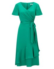Jacques Vert ruffle dress