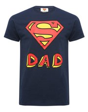 Superdad print t-shirt