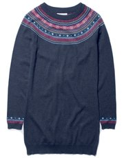 Brakeburn fairisle tunic jumper dress