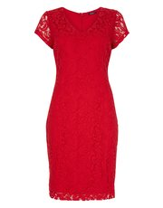 Roman Originals v-neck lace dress
