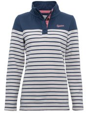 Brakeburn striped pull on sweater