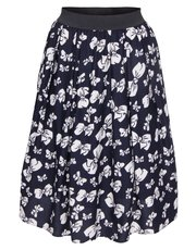 Scarlett and Jo plus large bow print skirt