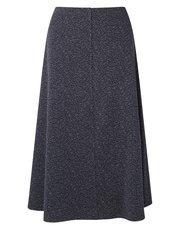 Eastex ponte texture flared skirt