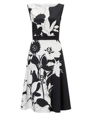 Precis Petite shadow floral prom dress