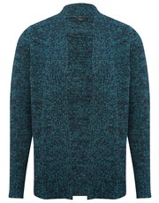 Boucle edge to edge cardigan