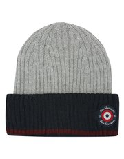 Ben Sherman ribbed beanie hat