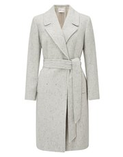 Precis Petite Iris patch pocket coat