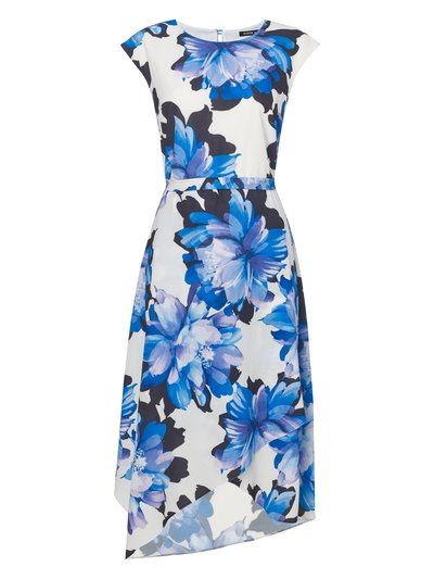 Roman Originals floral print wrap dress