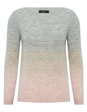 Ombre long sleeve jumper