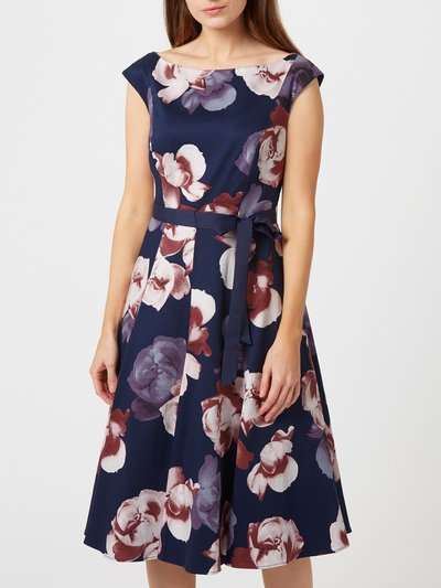 Precis Petite Carly floral prom dress