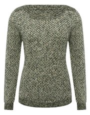 Petite textured knit jumper