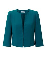 Jacques Vert crepe edge to edge jacket