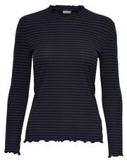 JDY Frill striped top