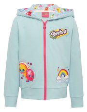 Shopkins zip through hooded sweater