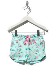 Mermaid print shorts