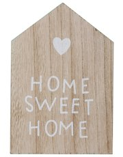 Home Sweet Home wooden house sign