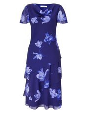 Jacques Vert florelli soft print dress
