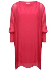 Goose Island silk tunic dress