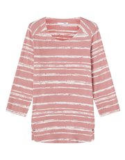 Dash birch texture stripe top