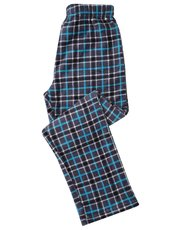 Fleece Check Pyjama Trousers