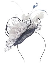 Jacques Vert flower trim headpiece