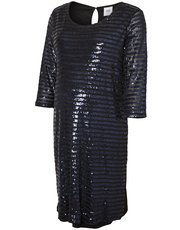 Mamalicious sequin tunic dress
