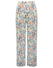 Nautical print pyjama trousers