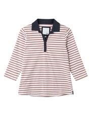 Dash simple stripe rugby top