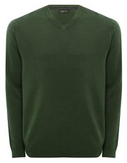 Soft touch v-neck jumper