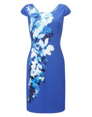 Jacques Vert riviera print bali dress