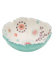 Flower ceramic bowl