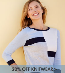 petite knitwear offer