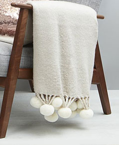Shop throws and blankets