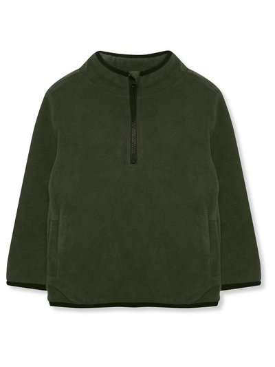 Zip neck fleece (3-12yrs)