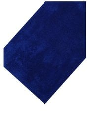 Dark blue cotton deep pile bathmat