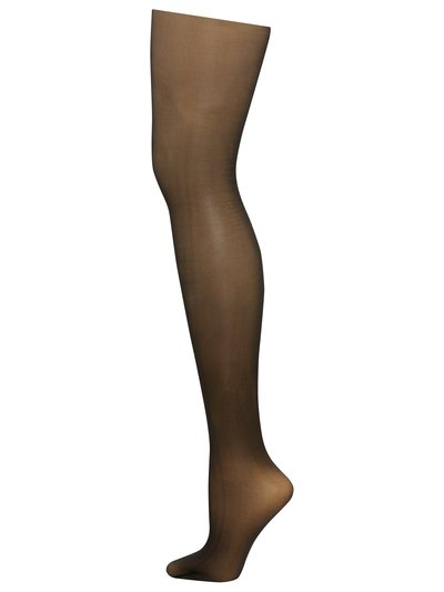 Sheer sandal toe tights 15 denier