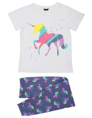Teens' unicorn print pyjamas