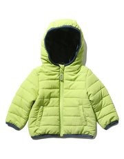 Lightweight hooded padded jacket