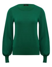 Blouson sleeve jumper