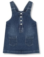 Denim pinafore dress (9mths-5yrs)