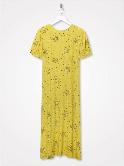Sonder Studio star print midi dress