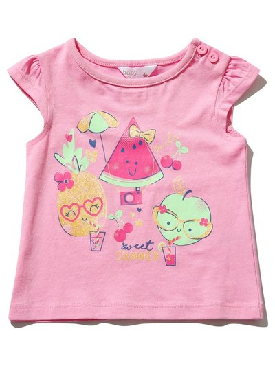 Fruit print t-shirt (0mths-4yrs)