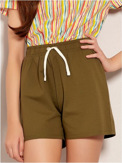 Teen khaki shorts