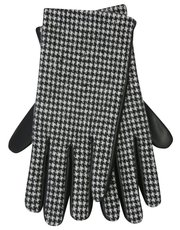 Dogtooth pu gloves